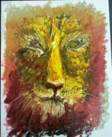 A lion by CaterinaOrlando