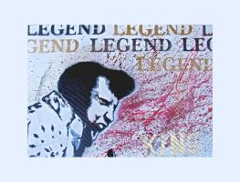 Legend Series- The King- Elvis by ronankelly
