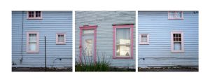 Little pink windows by Izaaaaa