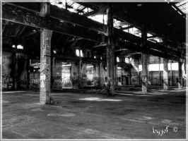 unused factory by jef-photos