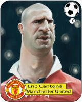 Eric Cantona by Parpa