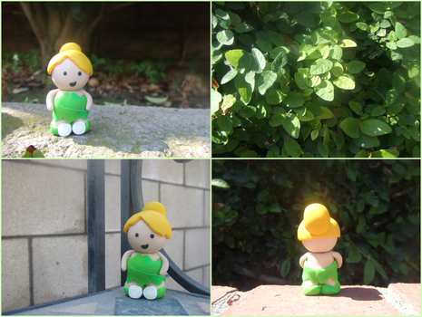 tinkerbell : clay creation by colorized-happily