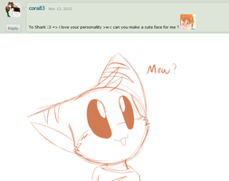 Ask the 'Devivs: Cute Face? by SmilehKitteh