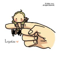 Tiny legolas by haleyhss