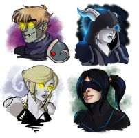 [commission wow busts 7 by SirMeo