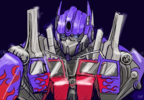 Movie Optimus 01 by J-666