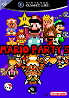 Mario Party 5 in 16 bit by jdunning619