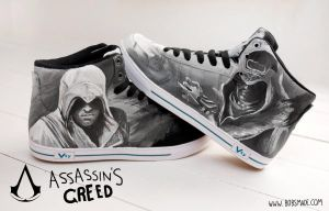 Assassins Creed Sneaker by Bobsmade