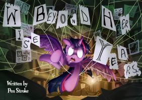 Conspiracy Wings FIM fanfic titlecard by Jowybean