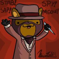 My Steam mascot: Mr. Copycat by Nicolas-SW