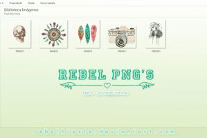 Rebel PNG's by silly-luv