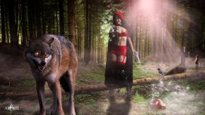Le Chaperon rouge by Altair-E