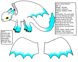 Cloud Dancer ref sheet by Dragon-Wolf-Lover