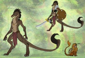 Diego- Reference by SheoCheese