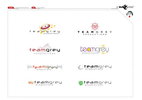 teamgrey logo design by mushroomstick2