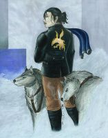 Dragunov and Wolves by Krimzon-1