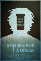 We've Got a Winner - Reqiuem for a Dream Poster by edwardjmoran