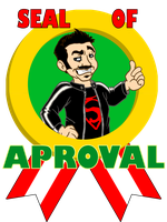 Angry Joe: seal of aproval by BD-Ghis