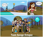 Lindana's arrival and Octopus group pic! by MustacheSkulls