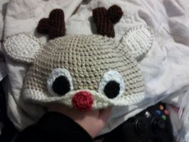 Rudolph hat by Vanora1
