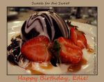 Sweets for the Sweet Edie by kayaksailor