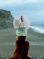 Caught in a bulb by BigA-nt