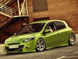 Renault Clio Low by degraafm