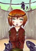 ACEo 86 pretty please by ChemicalIceTea