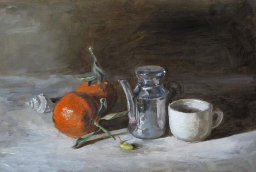 a still life practicing by Vanbay