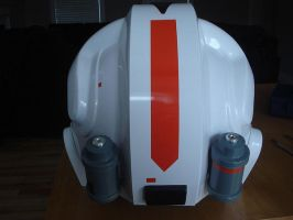 AT-AT Driver helmet back view by jdlr64