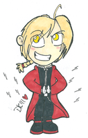 Edward Elric chibi thing. by donnatron