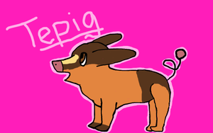 Tepig by AcireCake