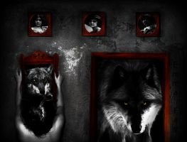 A Wolf at the Door by Emma-Fay
