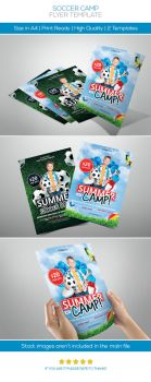 Soccer Camp Flyer by hoanggiang12