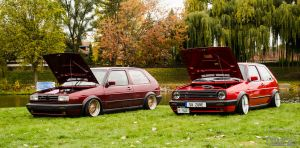 Lowered GTI's by Naqphotos