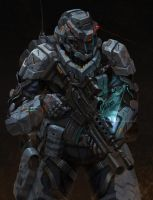 combat Suit by Yangyoonyoung