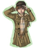 Burberry colored by pikimomo