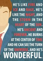 Tenth Doctor Poster by Procastinating