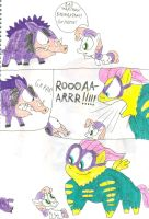 Saddle Rager Scares Off Dobson by SithVampireMaster27