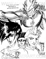 Wicked Cool Drago n Ice Gang by alaer