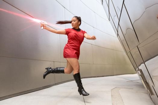 Star Trek cosplay - Phasers by Annjelife