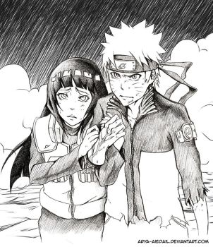 NaruHina: Don't leave my side by Arya-Aiedail