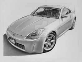 Nissan 350 Z by industrialrevelation
