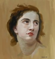 Study after W.Bouguereau by geors
