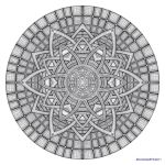 Mandala drawing 19 by Mandala-Jim