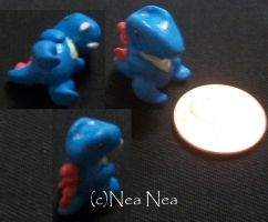 Totodile charm by ElectricDinoSaur