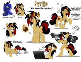 OC Pony: Pyrite by Blood-Asp0123