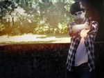 Cosplay Alan Wake - 'Stay back' by Emme-Gray