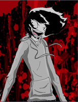 -Jeff The Killer- For scoutisnotonfire by Abn0rma1
