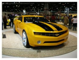Bumble Bee Camero by FragmentChaos